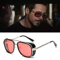 Lunettes de soleil homme sunglasses vintage retro inspi tony stark iron man