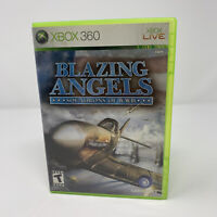 Blazing Angels: Squadrons of WWII Microsoft Xbox 360 Game No Manual Tested