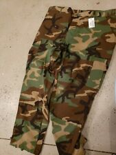 Woodland Camo Tactical BDU Pants Cargo Army Fatigues Camouflage X Large Short