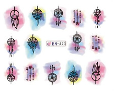 Nail Art Decals Transfers Stickers Dreamcatchers (BN423)