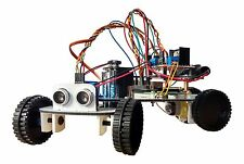 Evitare ROBOT SMART CAR KIT COMPLETO PER Raspberry Pi 2, B + & B (nessun RPI) UK