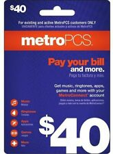METRO PCS  $40 Prepaid Refill  Fast Direct Refill to your MetroPCS Mobile number