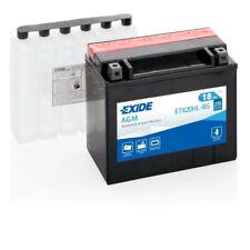Batterie moto Exide ETX20HL-BS YTX20HL-BS 12v 18ah 270A