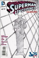 Superman Unchained (2013 DC) #4 Lee Sketch Variant NM 1:300
