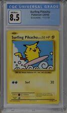 New listing Surfing Pikachu evolutions 2016 SECRET RARE 111/108