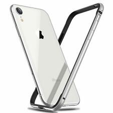 For iPhone XR Ultra Slim Aluminum Metal Rubber Soft Bumper Frame Case RANVOO