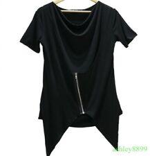 Fashion Men Slim Fit Short Sleeve T-shirts Korean Crew Neck Casual T-shirts Chic