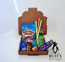 Perfect Petite USA American Candy Sweet Hamper Gift Box With Warheads & Hershey