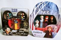Disney PEZ Lot: Frozen 2 & Mickey Mouse 80th Anniversary Limited Edition Tin Set