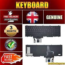 Für Original Dell Latitude e5450 e5550 schwarz lapotp Tastatur UK Layout Backlit