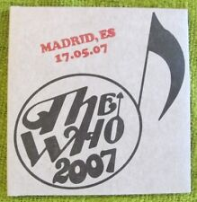The Who-Madrid 2007-BootlegLive -2CDs - Townshend - Daltrey