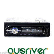 Universal 24V Single Din In-Dash Bluetooth Car DVD Player Stereo Radio AUX SD