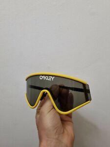 Oakley Eyeshade Yellow Greg Lemond Rare Collector Vintage No Box Display No Zero
