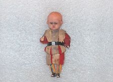 Vintage Mq (Michael Querzola) Swiss Vatican Guard Small Celluloid? Doll, Italy