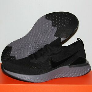 Nike Epic React Flyknit 2 Running Shoes Mens BQ8928-001 Black Anthracite New