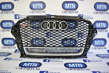 AUDI RS3 RS STYLE GRILL A3 TO RS3 8V 2013-2016 FRONT GRILL QUATTRO EDITION