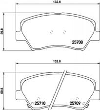 Textar Bremsbelagsatz für Hyundai i30/Kia Ceed -2570801
