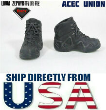 "1/6 LOWA ZEPHYR Tactical Military Combat Boots For 12"" Male Figure - U.S. SELLER"