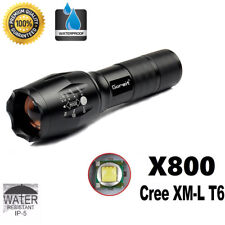 10000lm ShadowHawk X800 LED Tactical Flashlight Zoom Military Torch G700 Xmas