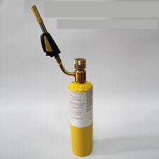 Thread Mapp Gas Self Ignition Plumbing Turbo Torch Solder Propane Welding set