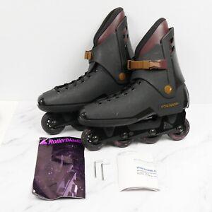 Vintage Rollerblade Lightning TRS Black Brown Size 13 Euro 47