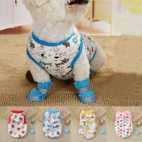Summer Various Cute Pet Dog Clothes Cotton Vest T Shirt Small Cat Puppy Costume