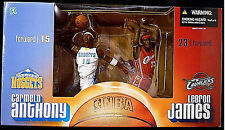 LeBron James / Carmelo Anthony Spec. Edition Deluxe Boxed Set - McFarlane Nba 6