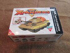 1989 Galoob Xpanders TANK / BATTLE STATION w/ Box & Instructions
