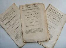Corps législatif. Conseil des Cinq-Cents. Talot. Motion d'ordre Officiers. 1797