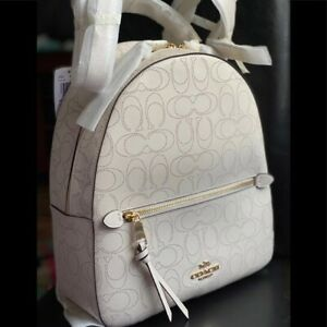 NWT Coach Jordyn Backpack In Signature Leather