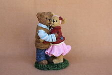 Boyds Bears Valentines 2013 Resin Hugsley & Darling...Moments Like This LE RET!