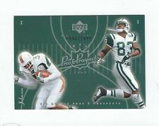 2003 UD Pros and Prospects #125 S Moss/Andre Johnson Rookie Texans Miami /1800