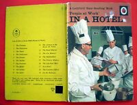 In A Hotel Ladybird vintage book Havenhand People At Work Easy Reading 1972