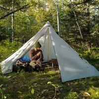 OneTigris Chimney Tent Ultralight Heated Shelter Outdoor SMOKEY HUT Tents