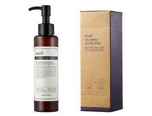 Klairs Gentle Black Deep Cleansing Oil (150 mL) + 2 in 1 Cotton Pads (120 pack)