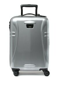 """TUMI 98439-1776 International 21"""" Carry On Hard Side Travel Case Silver NWT"""