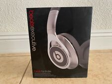 Beats by Dr. Dre Executive Noise Cancelling Over Ear Headphones Wired (Silver)