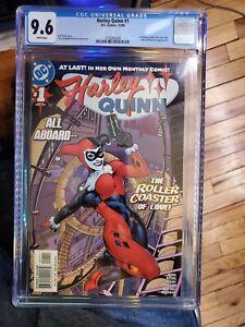 Harley Quinn #1 (2000) CGC 9.6 Comic