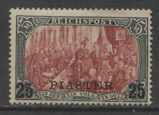 1900 German offices in Turkey  25 Piaster  mint*, $ 304.00