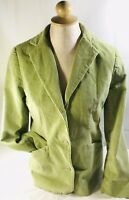LL Bean Greeb Courserpy Jacket Blazer Ladies Womens Size 6 EUC