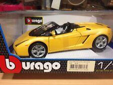 Coche coleccion BURAGO,escala 1/18,Ref.BU12016,Lamborghini Gallardo