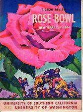 1944 Rose Bowl Football program, USC Trojans vs. Washington Huskies ~ Fair
