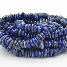 "Natural Lapis Lazuli Gemstone Chunky Chips Nuggets Beads - 15.5"" strand"