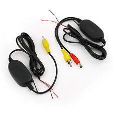Kit inalámbrico de transmisión de video 2,4GHz para coche - Cámara trasera - DVD
