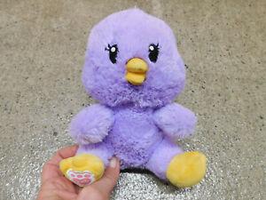 Rare Build a Bear Buddies Purple Chick Chicken Baby Plush Easter BAB toy mini