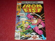 [BD COMICS MARVEL USA] IRON FIST # 7 - 1976 Variant Cover 10p.