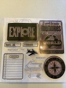 CTMH Close to My Heart Stamp Set D1622 Wanderful scrapbooking Workshop NEW