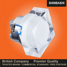 PREMIER Dimmable LED Square Crystal Lens Ceiling Wall Down Spot Lights Light UK