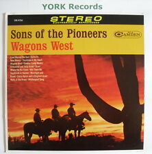SONS OF THE PIONEERS - Wagons West - Excellent Con LP Record RCA Camden CAS 413