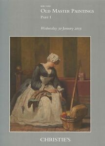 Christie's Catalogue Old Master Paintings 30/01/2013 HB